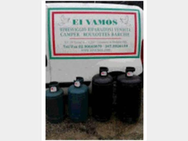 Bombole gas uso domestico