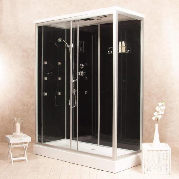 Box doccia idromassaggio multifunzione 150x70 cm vorich