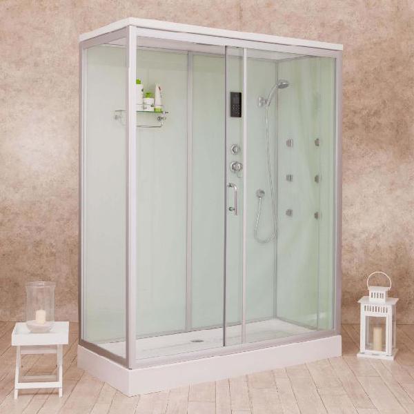Box doccia idromassaggio multifunzione 160x70 cm vorich