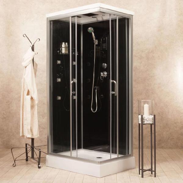 Box doccia idromassaggio multifunzione 70x100 cm vorich