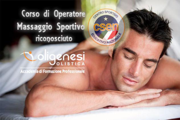 Corso di massaggio sportivo a monza riconosciuto csen