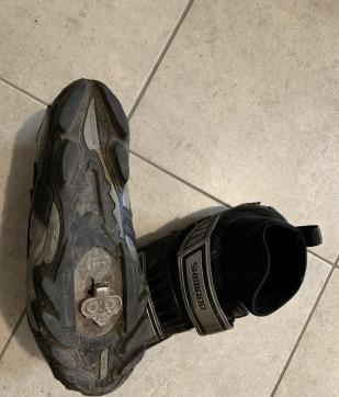 Scarpe ciclismo invernale shimano gore-tex tg.43 90 euro !