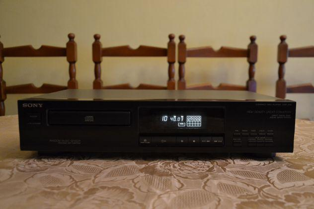 Sony cdp-209 lettore cd compact disc player