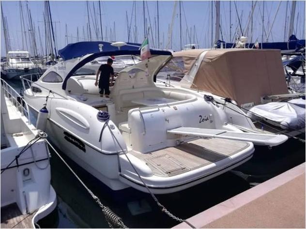 Barca a motoregobbi cabinato 38 gobbi2tdyacht anno2002