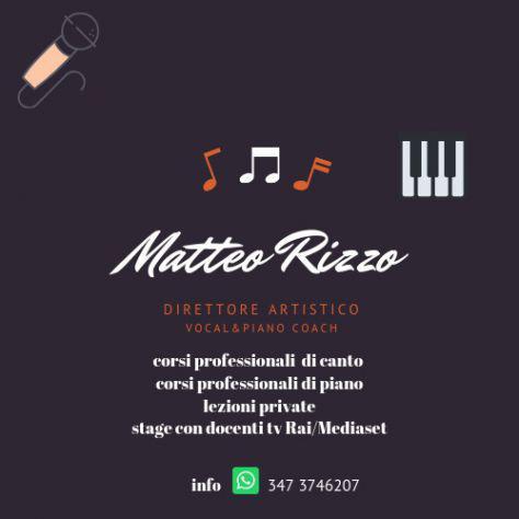 Lezioni di canto - lezioni di piano - direzione artistica