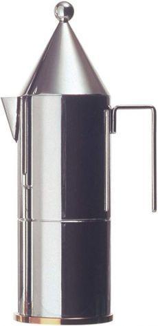 Caffettiera espresso italiano la conica 3 tazze alessi