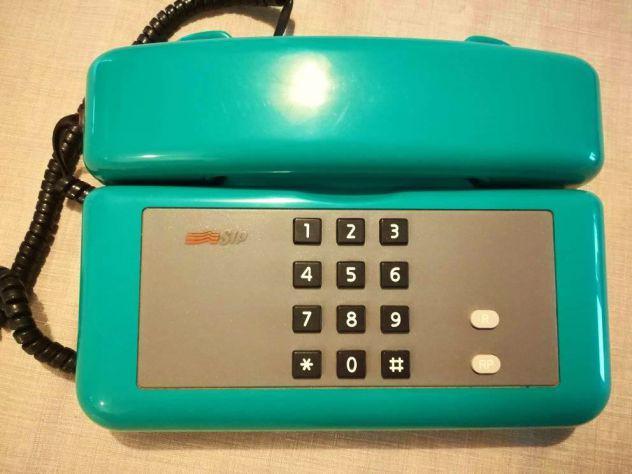 """Telefono vintage sip """"sirio"""" colore verde"""