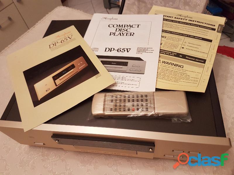 Compact disc player accuphase dp 65v