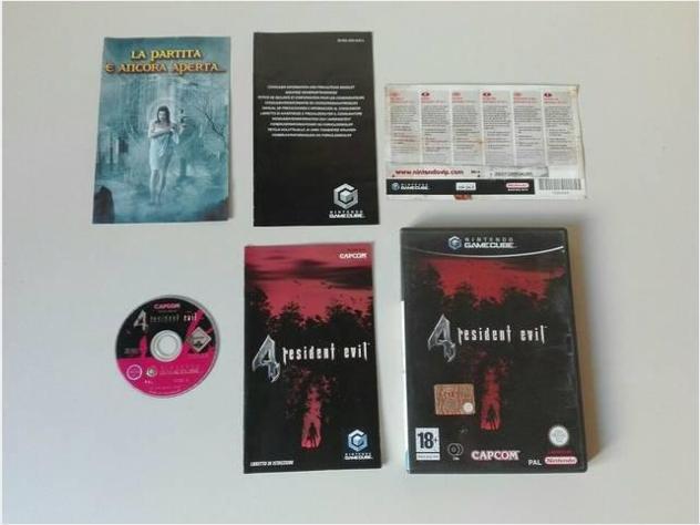 Gamecube console giochi resident evil 4 ita usato