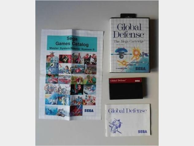 Giochi sega master system console game global usato