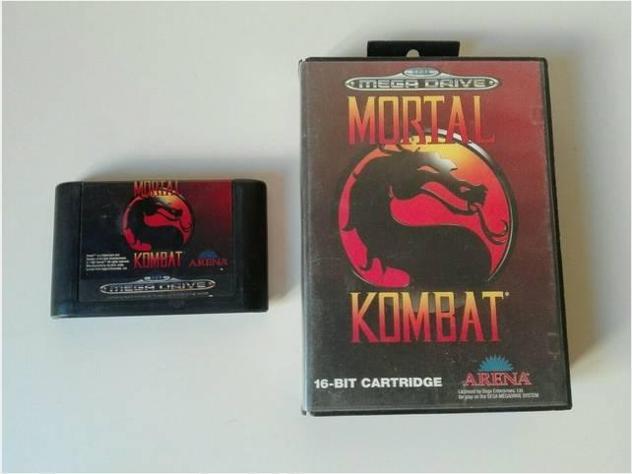Mortal kombat giochi megadrive sega console usato