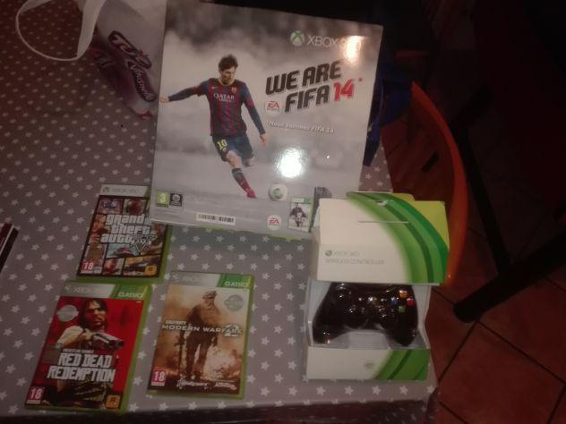 Xbox 360 4 giochi