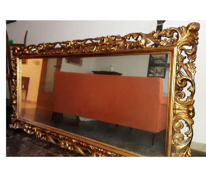 Specchio in legno intagliato 2mt
