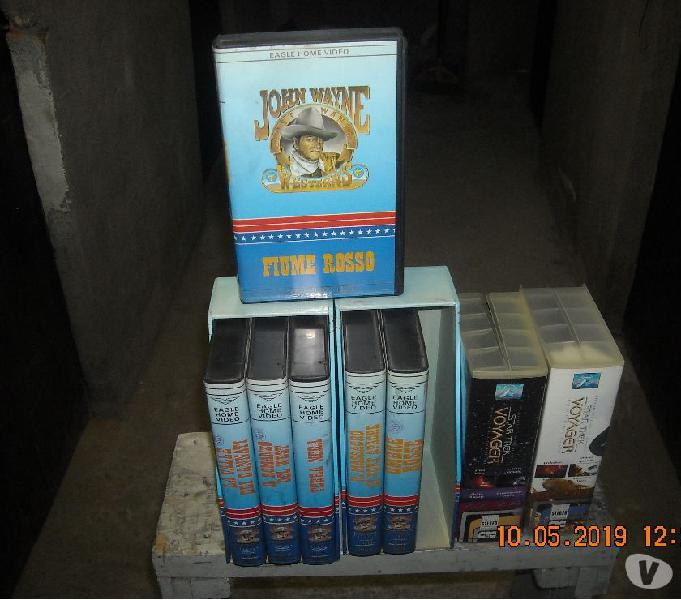 Videocassette vhs 600 titoli circa