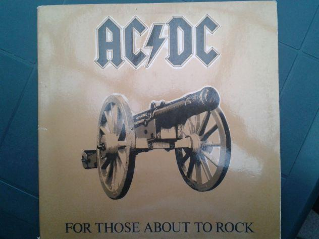 Ac/dc for those about to rock - vinile 1981