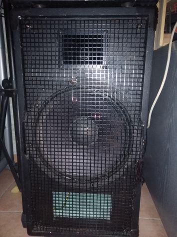 Casse acustiche passive 300 watts l'una