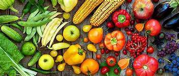 Frutta e verdura alimentari pane