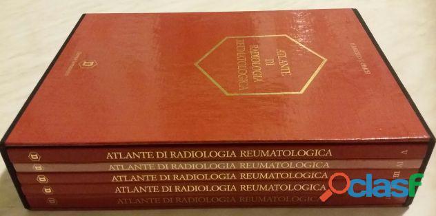 Atlante di radiologia reumatologica di P.Barcelo e J.Obach; Edizione: Milano, Dompé, 1988 nuovo 3