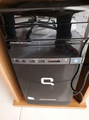 Computer (+ display) fisso desktop pc hp compaq cq2900el