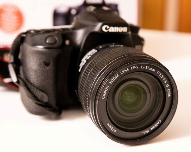 Canon 70d con obiettivo ef-s 15 - 85mm f/3.5-5.6 is usm