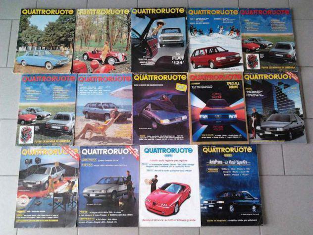 Rivista quattroruote - annate complete dal 1964