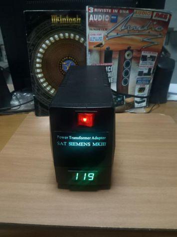 Trasformatore 230 volt/120 volt per audio hi-fi