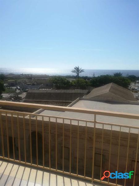 Affitto a Marsala Appartamento vuoto vista mare