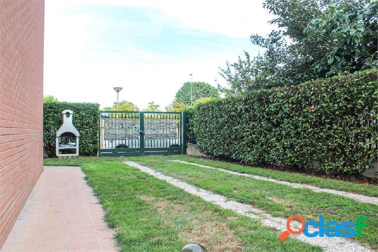 Ampio 3 locali con giardino a marcallo