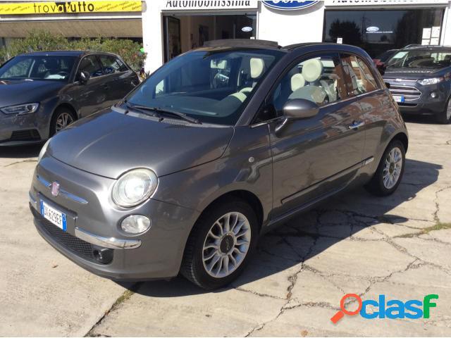 Fiat 500 cabrio benzina in vendita a romano di lombardia (bergamo)