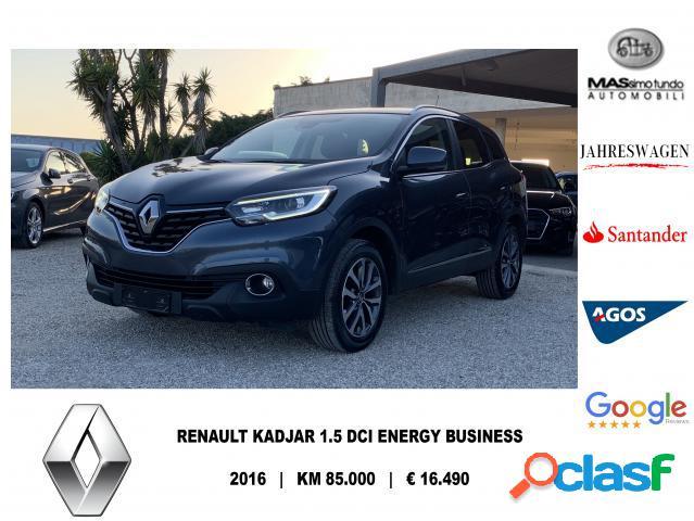 Renault kadjar diesel in vendita a melissano (lecce)