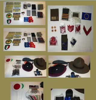 Accessori militari/associazioni usato in blocco padova