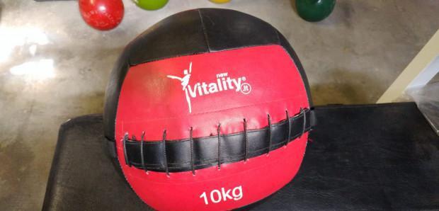 Wall balla 10 kg new vitality