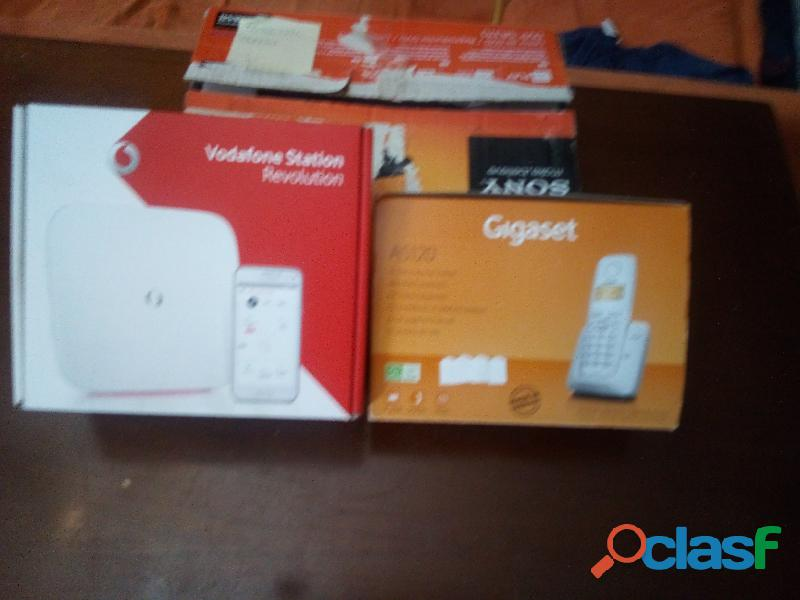 Vodafone station+usb/key+cordless