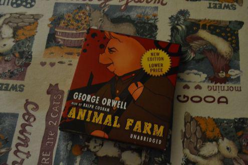 Animal farm di orwell audio cd