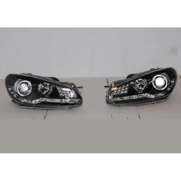 Fanali day light volkswagen golf 6 09-13