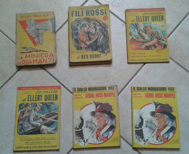 Gialli mondadori anni '30-'70