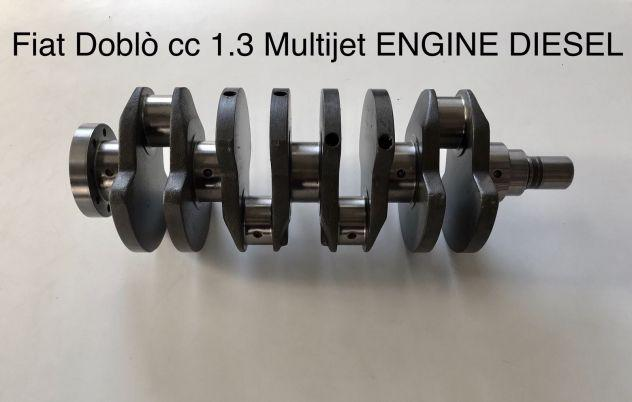 Albero motore fiat doblò 1.3 cc multijet engine diesel