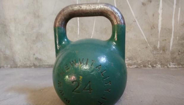 Kettlebell /ghiria kg 24 da gara f.g.s.i.