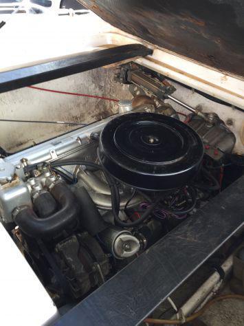 Motoscafo Tullio Abbate motore BMW