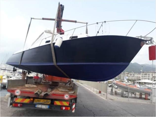 Barca a motore7 mari day cruiser anno1974 lunghezza mt8