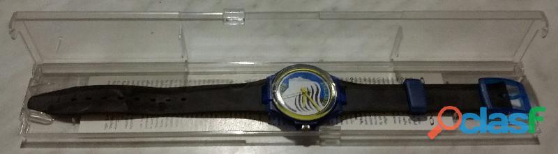 Orologio atalanta b.c.1903 football sport watch parmalat enduro vintage anni '90 nuovo