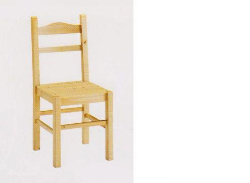 Arredamenti rustici sedia anita seduta in legno nuova vero