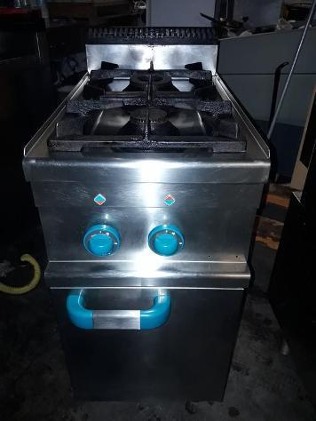 Cucina a 2 fuochi a gas