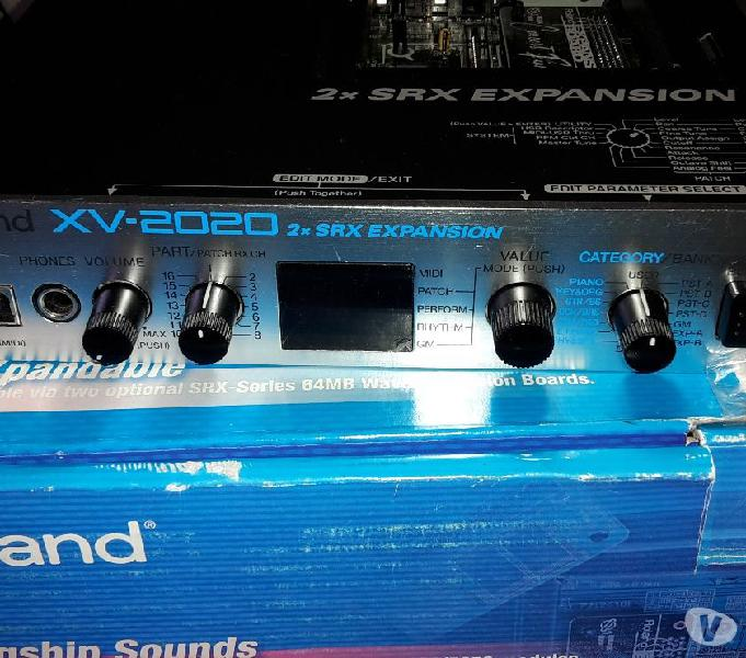 Espander roland xv2020 + micropiano + master + umx61 + pc300