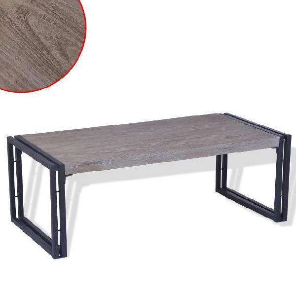 Vidaxl tavolino da caffè in legno di teak 100x50x35 cm