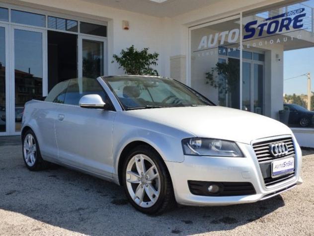 Audi a3 cabrio 2.0 tdi s tronic ambition '2009 rif. 12257240