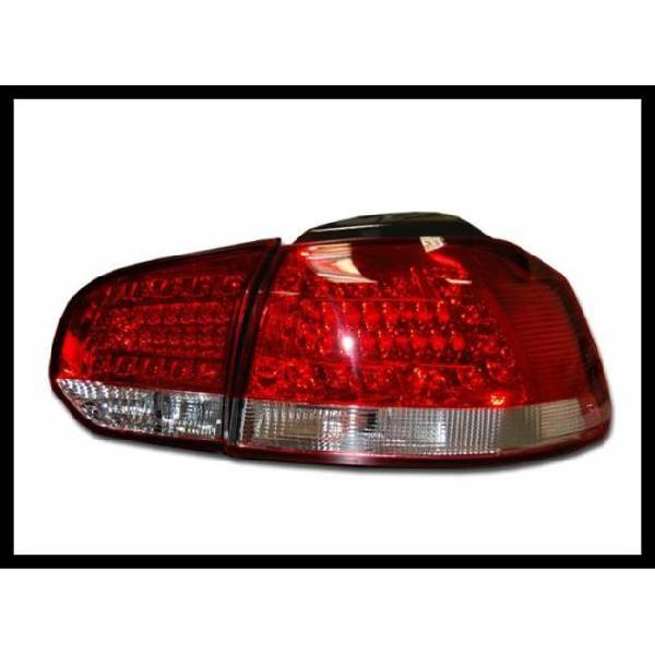 Fanali posteriori volkswagen golf 6 led red