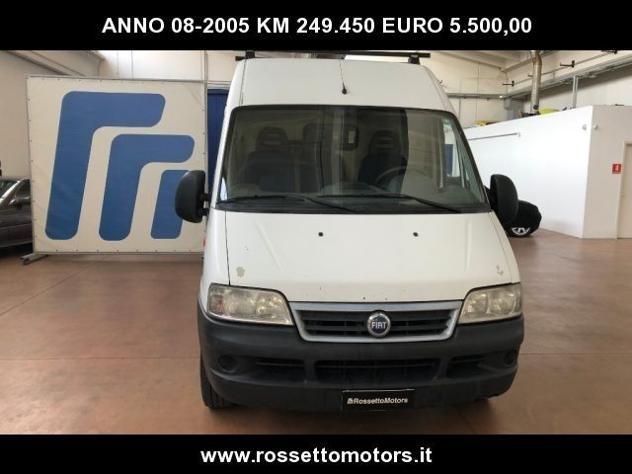Fiat ducato 15 2.8 jtd pm furgone rif. 12258481