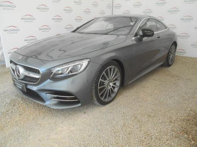 Mercedes-benz s 560 4matic coupé premium plus rif. 12256417