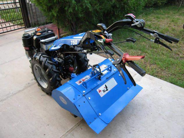 Motocoltivatore bcs 750 motore lombardini 12cv diesel